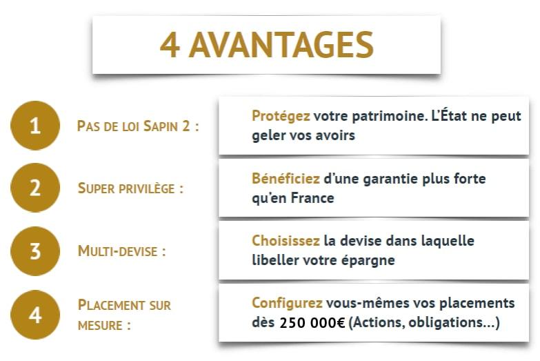 4 avantages assurance vie luxembourg