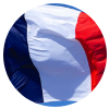 France medaillon drapeau