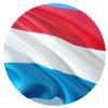 luxembourg medaillon drapeau