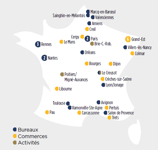 investissements scpi vendome regions